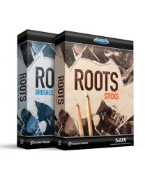 TOONTRACK SDXRB-120 SDX Roots: Bundle Sticks + Brushes, Rods and Mallets
