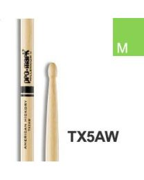 PRO MARK TX5AW BACCHETTE HICKORY 5A MEDIUM