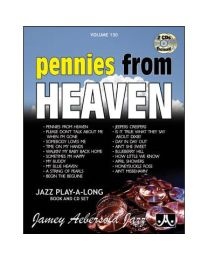 AEBERSOLD VOLUME 130 - PENNIES FROM HEAVEN +2CD BASI JAZZ