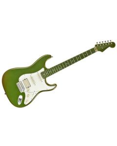 FENDER STRATOCASTER Japan Flip Colour GREEN /ORANGE 0261198901 CHITARRA ELETTRICA